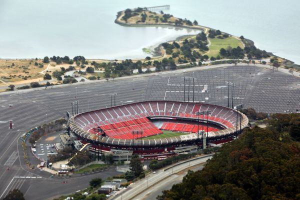 Aerial Photography San Francisco - Robert Barbutti Photography - Candlestick Park